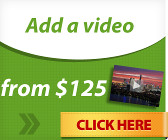 Add a video - From $125
