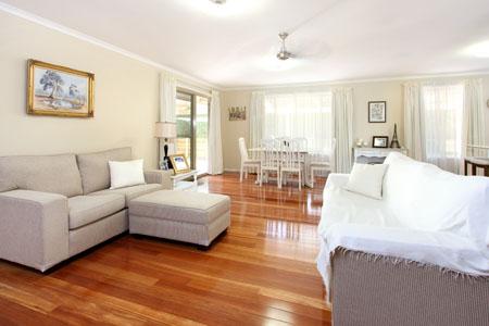 Brisbane real estate photography - before shot